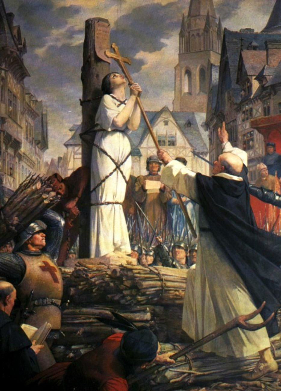 Joan Of Arc At The Stake