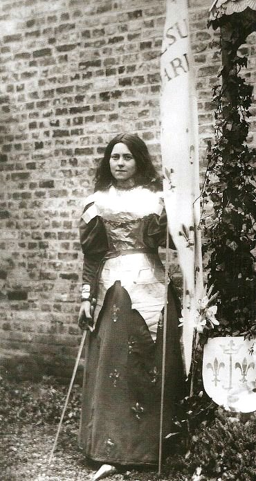 Therese of Lisieux as Joan of Arc