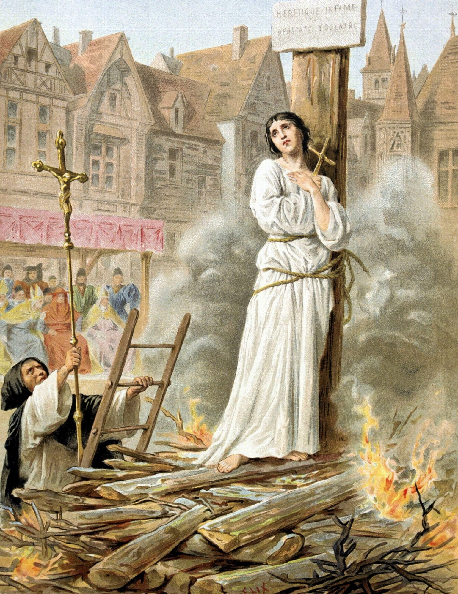 Why Was St Joan Of Arc Burned To Death?